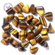 Golden Tiger Eye Tumble Stone
